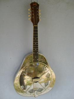 Style 2 Single cone Mandolin Front