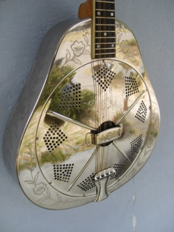 Style 2 Single cone Mandolin Front and side